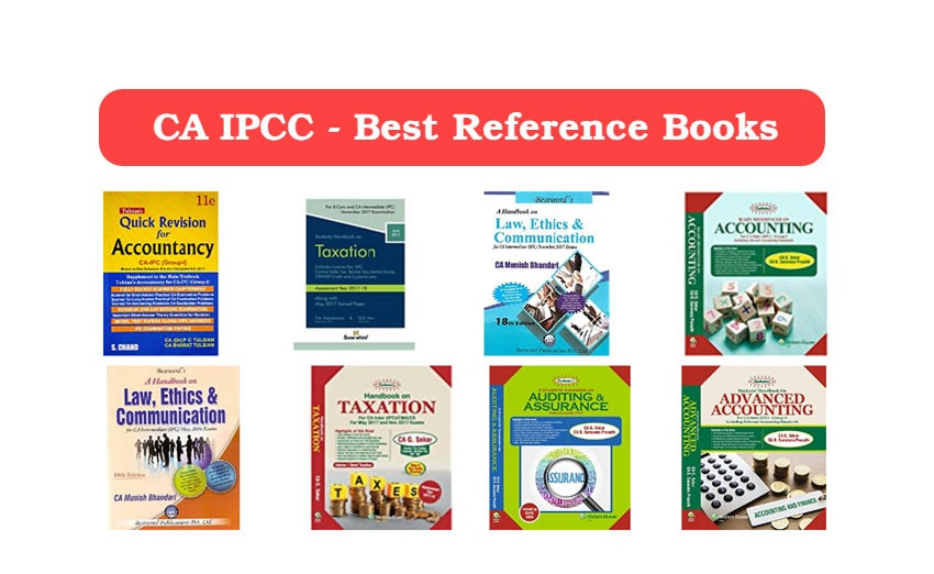 CA IPCC Books For Self Study May 2018 – IPCC Reference Books