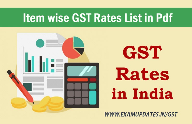 gst rate chart in hindi pdf free download