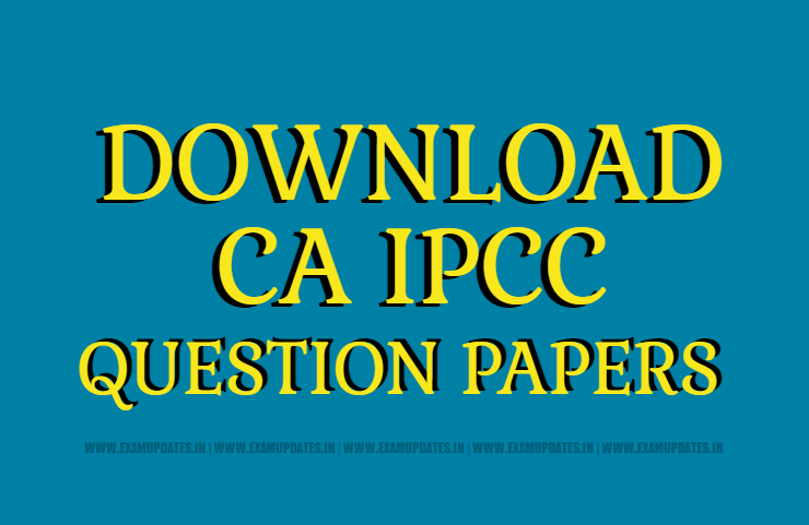 Image result for ca ipcc question paper nov 2017