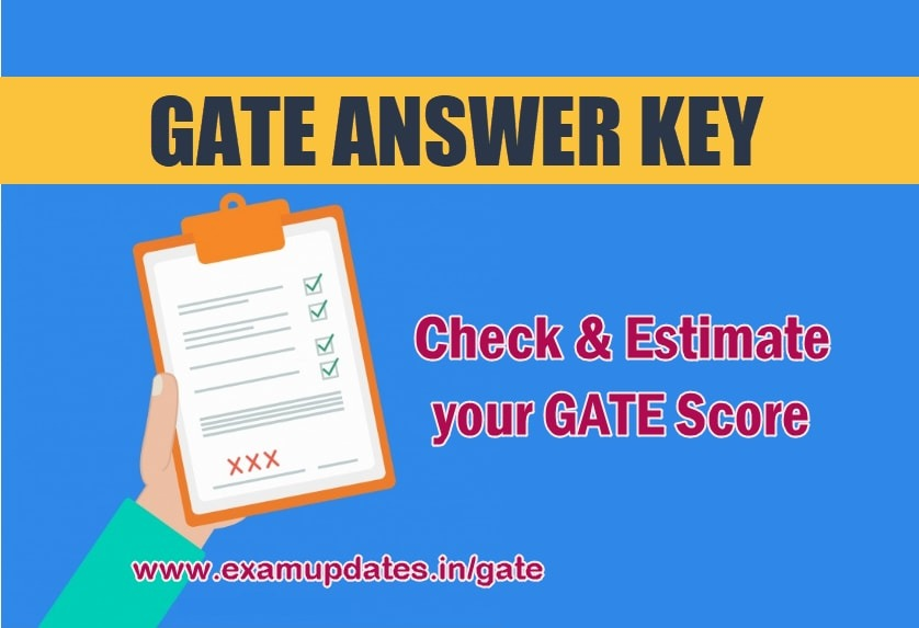Gate Answer Key Pdf