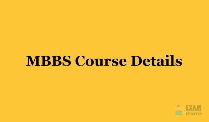 MBBS Course Details - Eligibility, Fee, Duration, Colleges