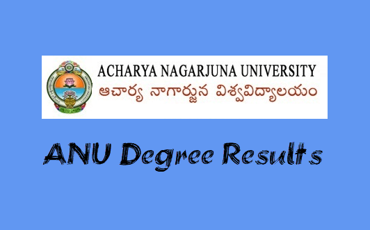 ANU Degree Results 2019 -1st 2nd 3rd year UG, PG Results @anu ac in