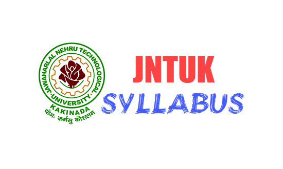 JNTUK B Tech 2-2 Syllabus 2019 for R16, R13, R10 Regulation