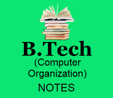 Computer Organization Pdf Free Download B Tech 2nd Year Lecture Notes Books Study Materials Pdf