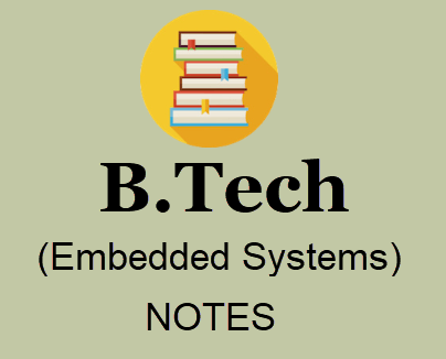 Embedded Systems Pdf Free Download B Tech Lecture Notes Books Study Material