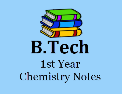 Engineering Chemistry 1st Year Notes Pdf- Download Books