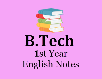 Engineering English pdf 1st Year Notes - Download Books & Notes
