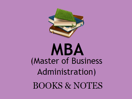 MBA Books & Notes For All Semesters in PDF - 1st, 2nd Year