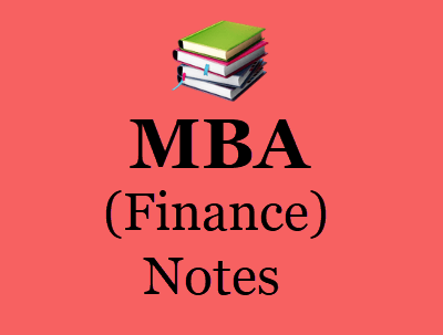 MBA Finance Notes - Download All Semester Books & Study