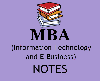 MBA Information Technology and E-Business pdf free download- MBA 4th