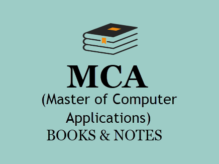 MCA Books & Notes For All Semesters in PDF - 1st, 2nd, 3rd Year