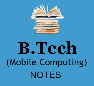 Mobile Computing Pdf Free Download- B Tech 4th Year Study