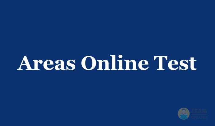 Areas Online Test 2019 - Aptitude Questions and Answers MCQ, Online Quiz